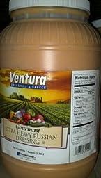 Ventura Extra Heavy Russian Dressing 1 Gal (2 Pack)