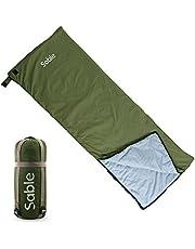 Sable Schlafsack, Hüttenschlafsack mit Tragebeutel, Wasserdichter Schlafsack für Camping, Rucksacktouren und Outdoor-Aktivitäten