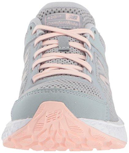Women's Silver Mink New 420v4 Cushioning Balance Running Shoe zv1aqPA