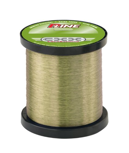 P-Line CXX-Xtra Strong 1/4 Size Spool (400-Yard, 30-Pound, Moss Green)