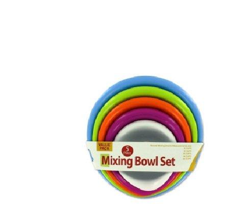 Case Bowl Mixing - Bulk Buys OB570 Mixing Bowl Set Case of 8