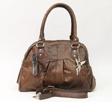 747b0df1044df Handtasche Shopper Tasche in braun von Kossberg