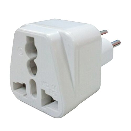 Gaoominy 250 V-16A Travel Plug 3 Round pin Travel Adapter Conversion Plug Converter