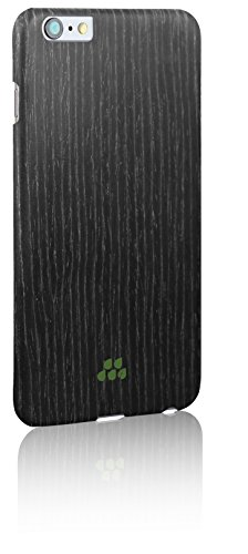 Evutec Wood S Series Sleek Impact Protection Snap Case for The iPhone 6+ Plus in Black Apricot - Tree Bark