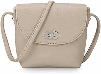 Amazon.com: davidjones Womens S Mini Crossbody Bolsa de ...