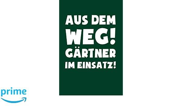 Geschenk Garten /& Landschaftsbau Gärtner Gartenbau