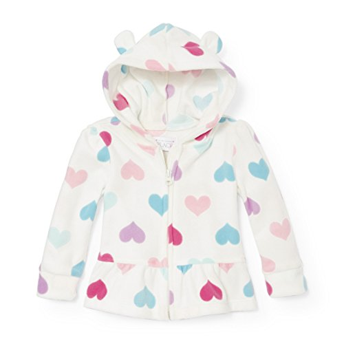 The Children's Place Baby Girls' Tops, Simplywht 89875, 4T -