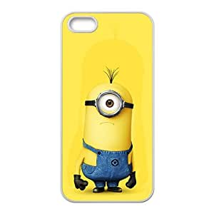 Lovely Minions Cell Phone Case for iPhone 5S by icecream design