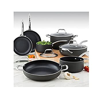 Wolfgang Puck 12 Piece Hard Anodized Cookware Set