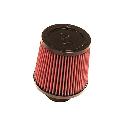 K&N Universal Clamp-On Engine Air Filter: Washable and Reusable: Round Tapered; 3 in (76 mm) Flange ID; 5.563 in (141 mm) Height; 6 in (152 mm) Base; 5 in (127 mm) Top , RU-4990 (Best Intake 2019 Wrx)