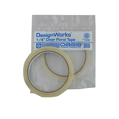 Oasis Clear Floral Tape - 1/4w 60 yrd. Roll by Smithers Oasi