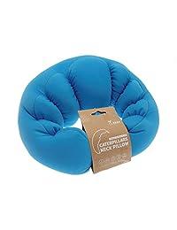 Caterpillar Design Travel Pillow / Neck Cushion (Blue)