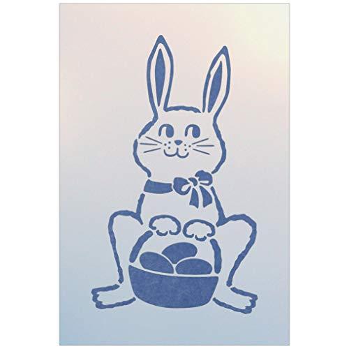 Easter Bunny Stencil - The Artful Stencil