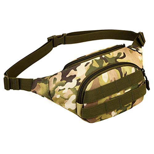 Durable Waist Military Men Bag Orange Pack Nylon ONEKKME Messenger Shoulder Travel Z1gBqw5
