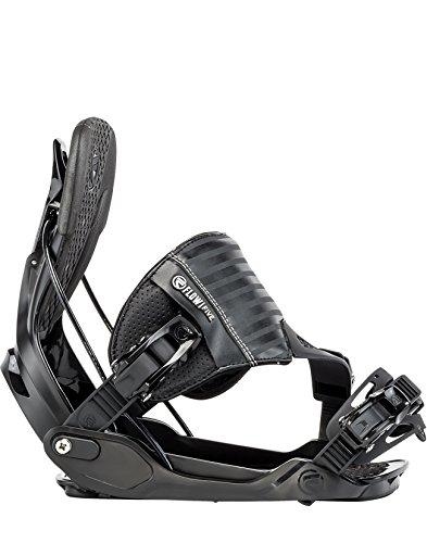 Flow Five Hybrid Snowboard Bindings Men Black