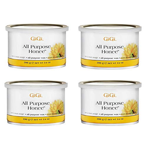 GiGi All Purpose Honee Wax 8 oz (Pack of 4)