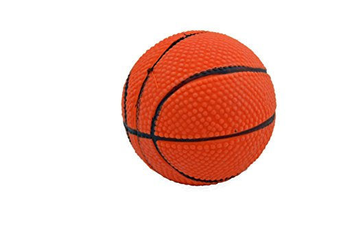 Latex Basketball Dog Toy 3 inch
