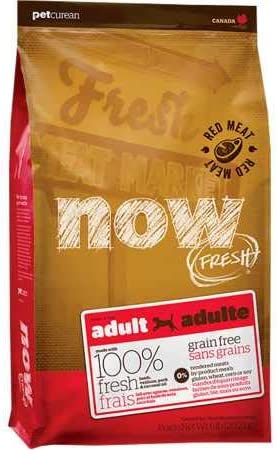 Petcurean Now Fresh Grain Free Red Meat Adult Recipe Dog Food
