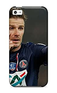 Anti-scratch And Shatterproof David Beckham Soccer Phone Case For Iphone 5c/ High Quality Tpu Case