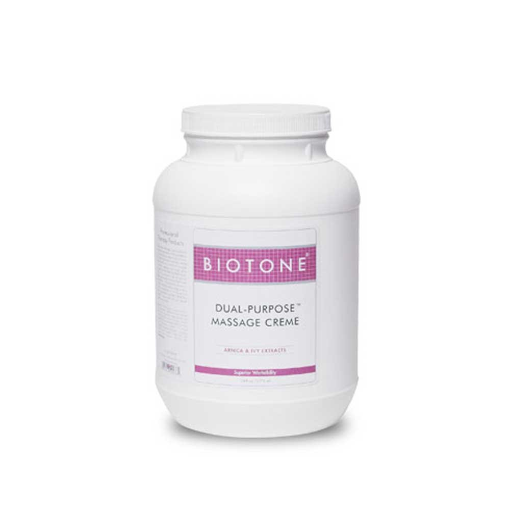 BIOTONE Dual Purpose Massage Creme 1 Gallon : Massage Lotions : Beauty