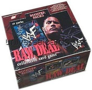 Raw Deal CCG: Booster Box [36 packs] by WWE