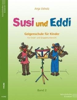 Anja elsholz: Susi e Eddi: Violino Scuola per Bambini dai 5 anni: per singolo e Lezioni di gruppo: nastro 2. per violino Heinrichshofen