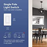 Aqara Smart Wall Switch (No Neutral, Single Rocker) Plus Hub, Zigbee Switch, Remote Control and Set Timer for Home Automation, Compatible with Alexa, Apple HomeKit, Google Assistant