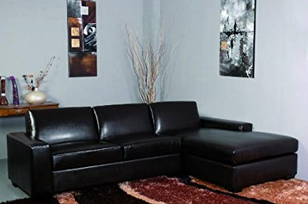 Cool Nevada Leather Corner Group Sofa Suite Set Settee Amazon Co Caraccident5 Cool Chair Designs And Ideas Caraccident5Info