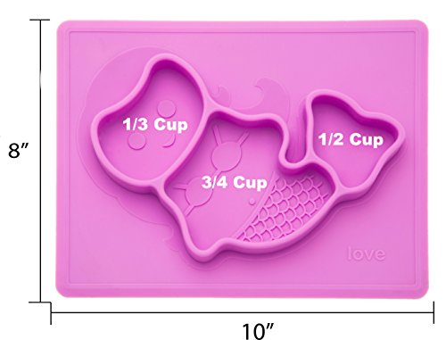 Lilly'sLove Mermaid Placemat Silicone