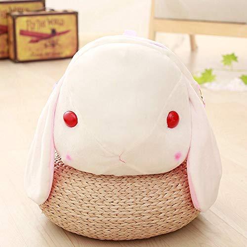 Lalaland12 Plush Backpacks - Cute Plush Rabbit Backpack Japanese Kawaii Bunny Backpack Stuffed Rabbit Toy Children School Bag Gift Kids Toy for Little Girl 1 PCs ()