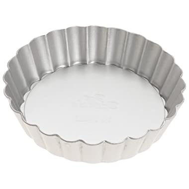 Fat Daddio's Anodized Aluminum Mini Tart Pan, 4 1/4 Inches