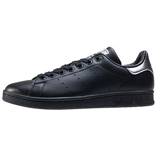 adidas Stan Smith W, Zapatillas de Tenis para Mujer negro