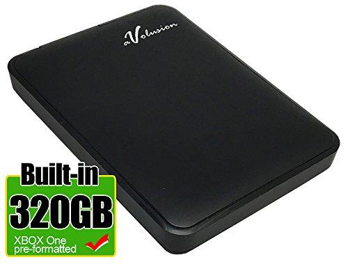 (Avolusion 320GB USB 3.0 Portable External XBOX One Hard Drive (XBOX One Pre-Formatted) HD250U3-Z1 - w/2 Year Warranty)