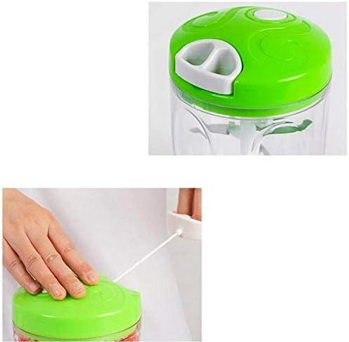 FGA Home Gemüseschneider Slicer Mandolinenschneider Küche Multifunktions-Chopper Fünf-Klingen-Handschneider mit Eierschläger