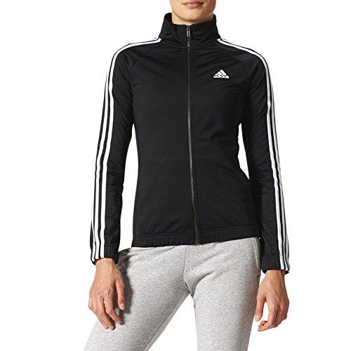 adidas Women's Athletics Designed-2-Move Track Jacket, Black/White, X-Small