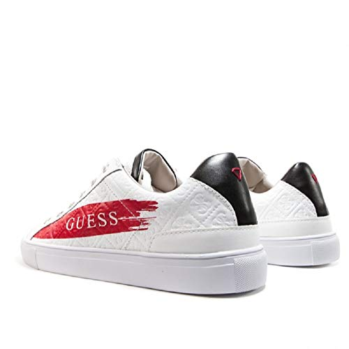 red Uomo N 39 Guess Bianco Sneakers 7Tqw0nH0