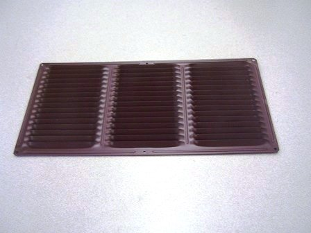 8'' x 16'' Soffit Vents - Brown - Box of 12