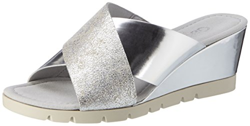 Gabor Shoes 62.849, Sandalias con Cuña para Mujer Rosa (Puder/Arg. (Specc) 12)
