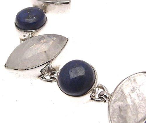 Bracelet pierre de lune Bijoux Pierre Lapis Lazuli Bijoux Bleu Lapis Lapis Lapis Bleu