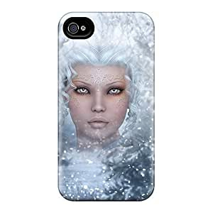 New Snap-on MDCH Skin Case Cover Compatible With Iphone 4/4s- Ghost Of Winter Past