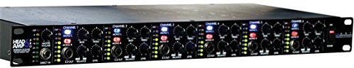 - ART HeadAmp6 Pro 6 Channel Professional Headphone Amplifier With EQ
