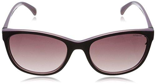 Polaroid P8339 JR C6T, Gafas de Sol para Mujer, Morado (Purple/Burgundy Shaded Polarized), 55: Amazon.es: Ropa y accesorios