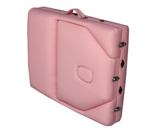 "Pink 77"" Long 30"" Wide 4"" Pad Reiki Portable Massage Table"