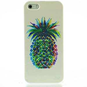 Colorful Pineapple Pattern Hard Case for iPhone4/4S