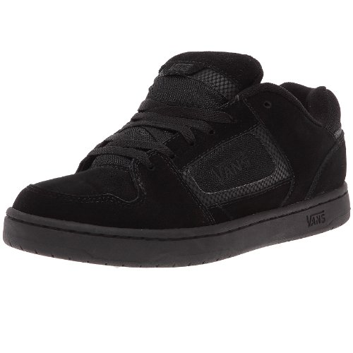 Black Suede Men's Shoes Docket Logo Skate VANS Leather pH7qqW