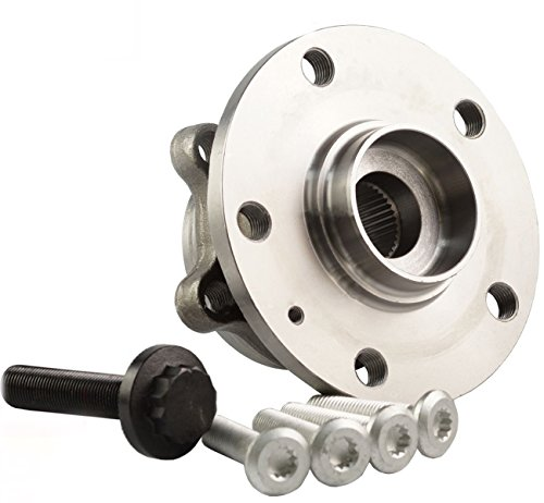 Bapmic 1T0498621 Front Wheel Hubs and Bearing Assembly for Volkswagen Audi ( Pack of 2 ) by Bapmic (Image #2)
