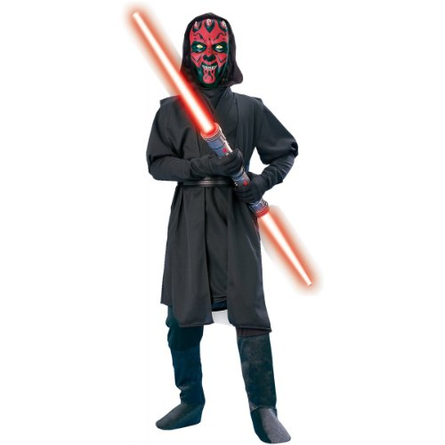 Darth Maul Halloween Costumes (Star Wars Child's Darth Maul Costume, Medium)