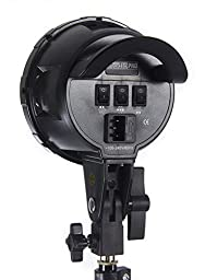 StudioPRO Seven Socket Head Only With Umbrella Mount For Photography Fluorescent Continous Lighting
