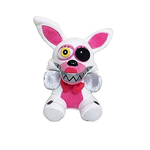 Five Nights at Freddy's Plush ToysAll Character Freddy Bear Bonnie Chica Foxy FNAF Stuffed Animal Doll Children's Gift Collection ByHENG-US (White Foxy)