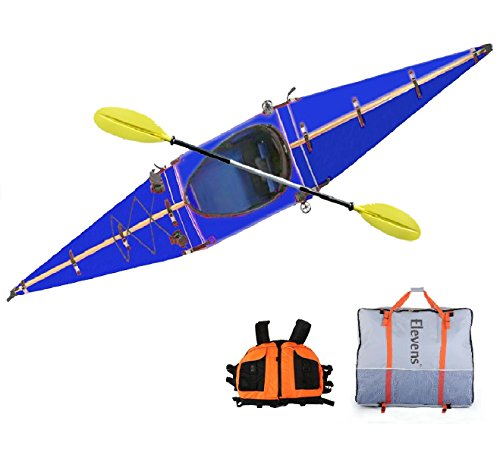 Elevens Cruise Plus Foldable and Portable Kayak (Dark Blue)